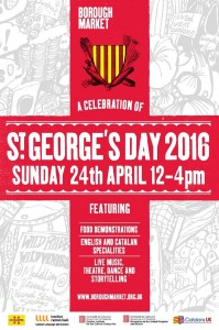 St George's Day 2016 poster